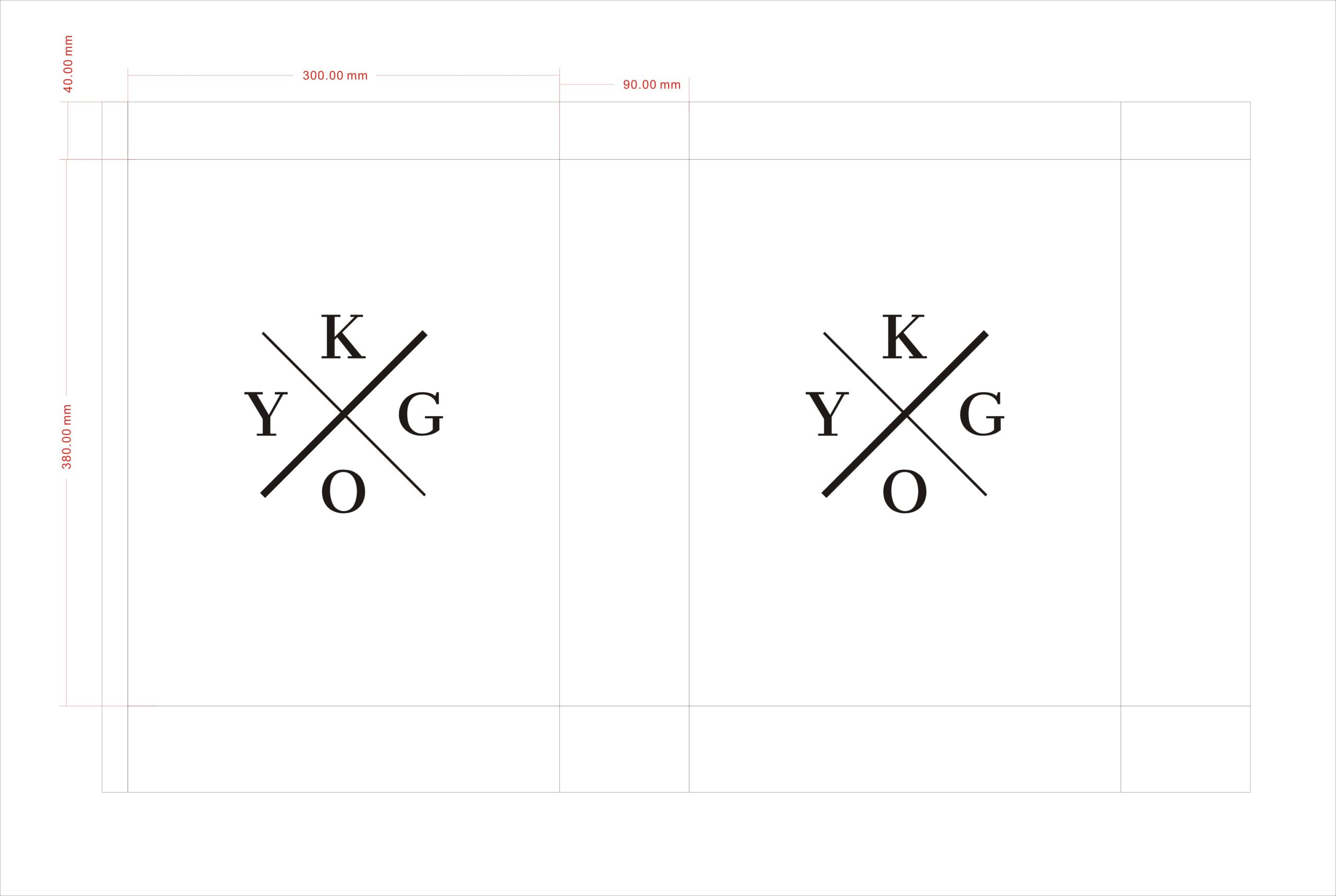 KYGO paper bag artwork
