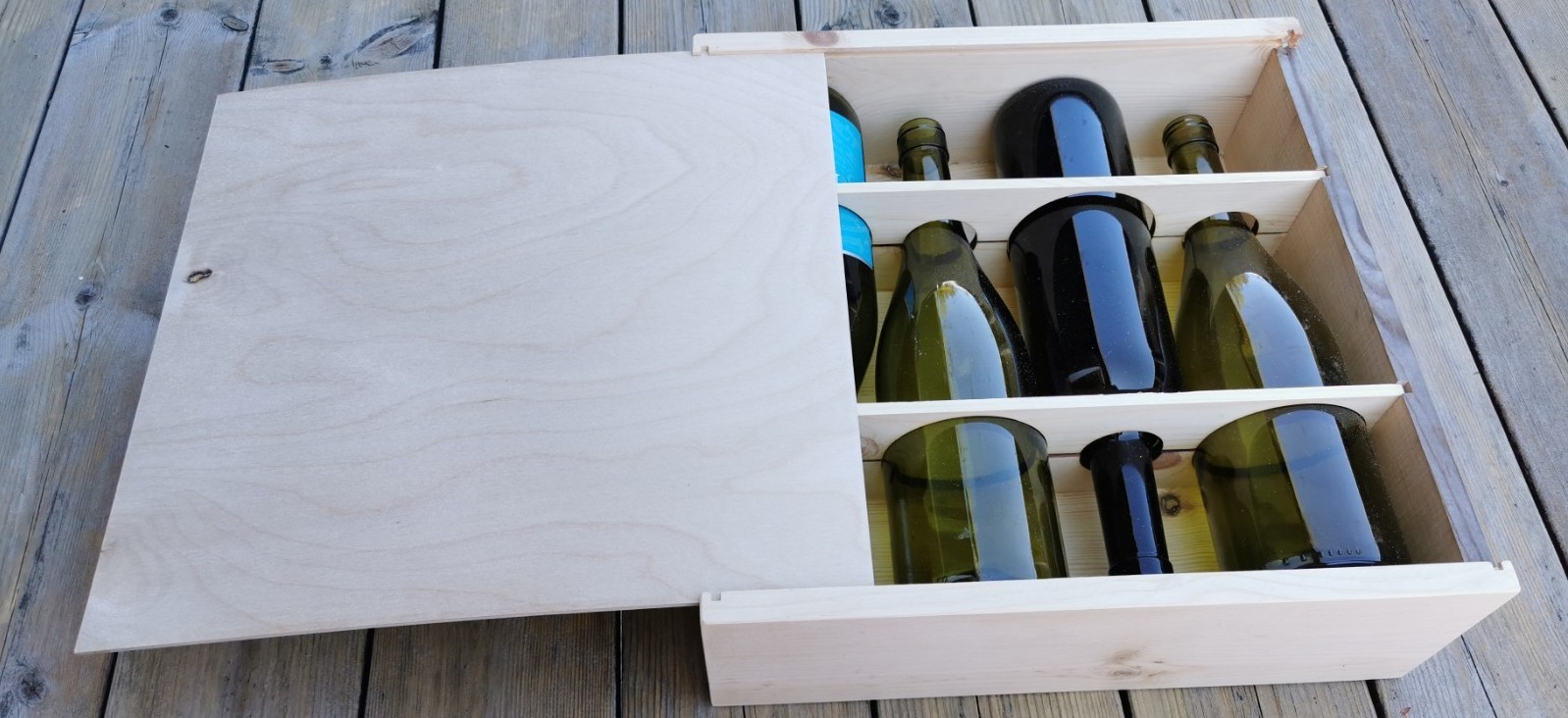 Case Study - POP - Accessories - Colorbox Wooden Wine Gift Box